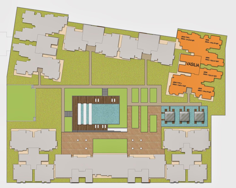 Vasilia: Site Plan