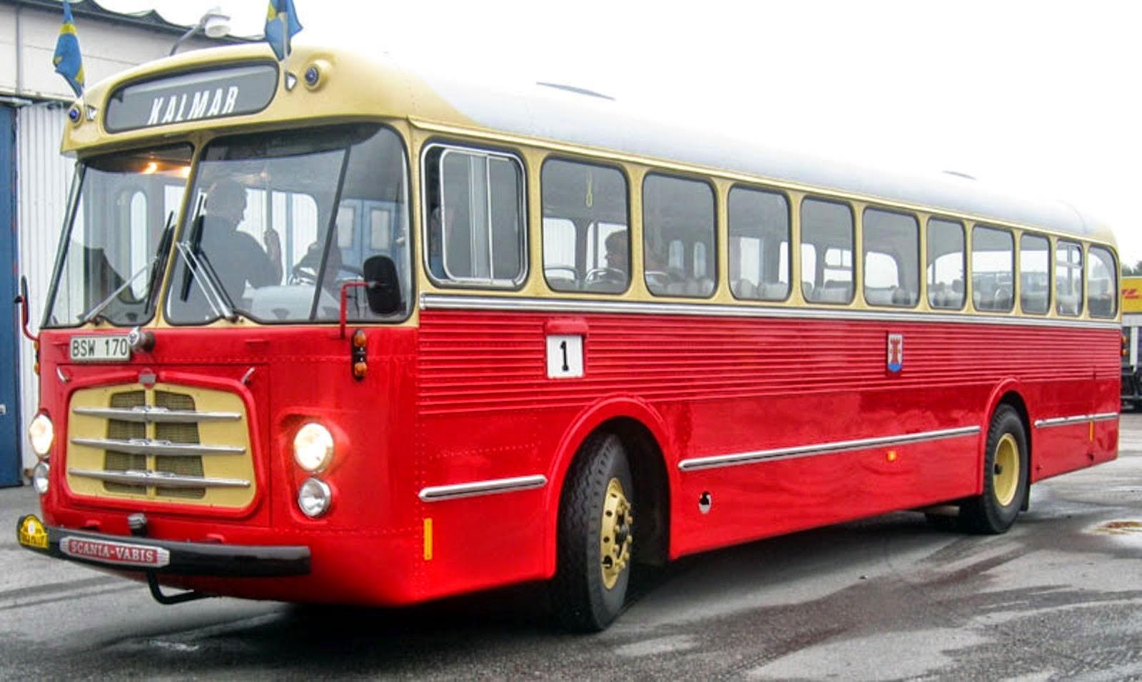 H 400  vagn 4 skänktes till Scaniamuseet