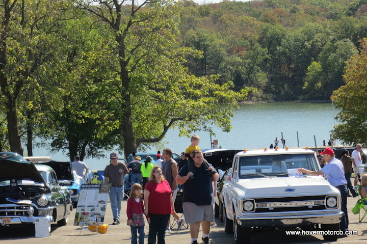 Nice little gathering at the Cars in the Park Show at Shawnee Mission Park