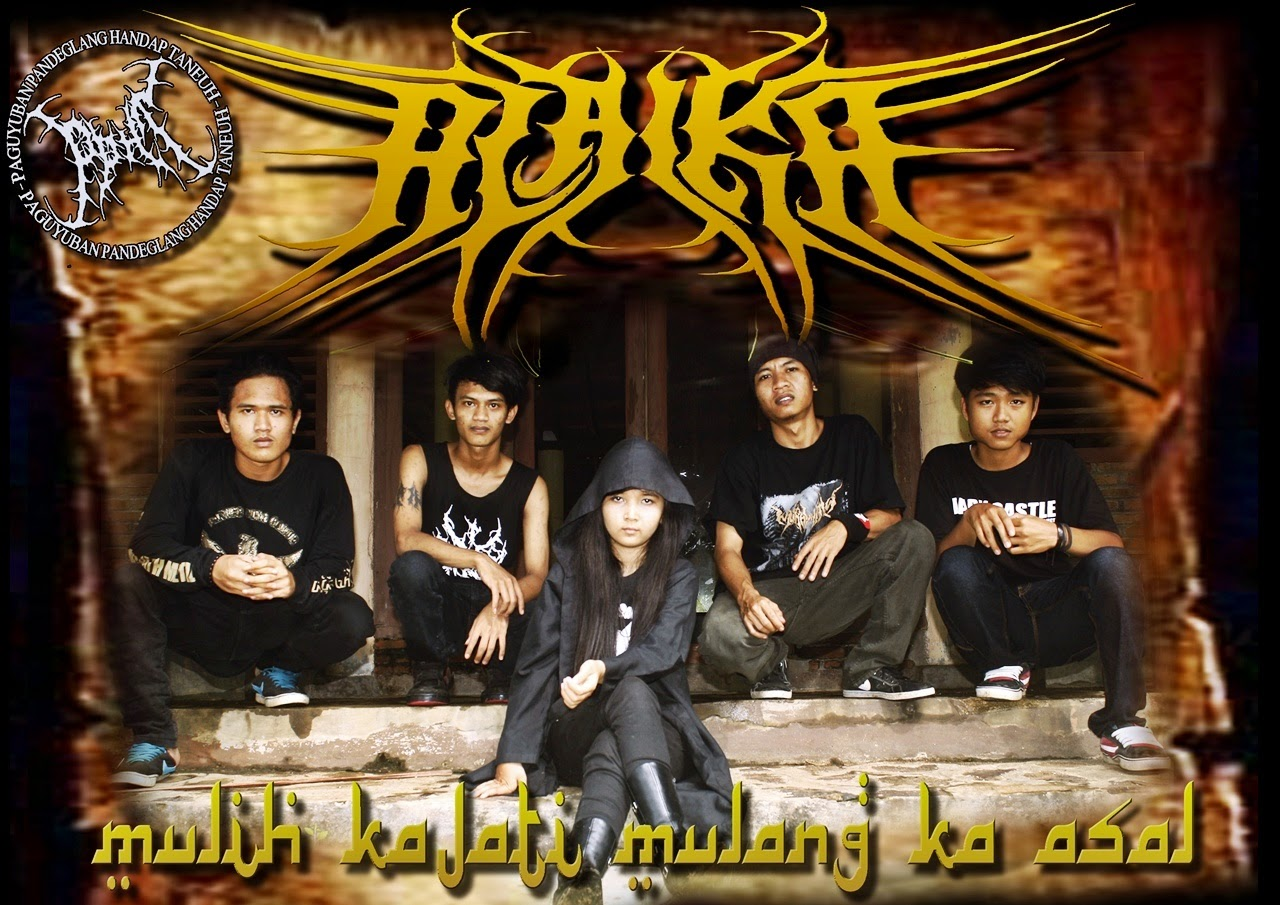 Alaika Band Gothic Metal Pandeglang - Banten Foto Vocalis personil logo artwork wallpaper