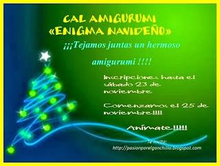 Cal Amigurumi Enigma Navideño