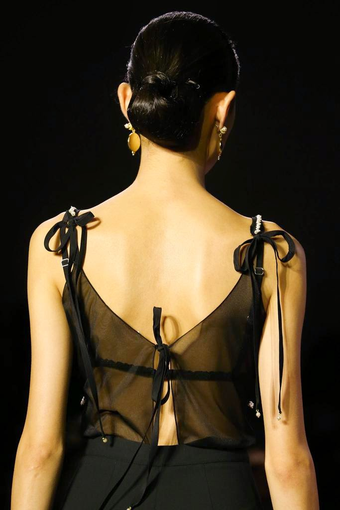 Altuzarra Spring 2015 RTW dress back detail
