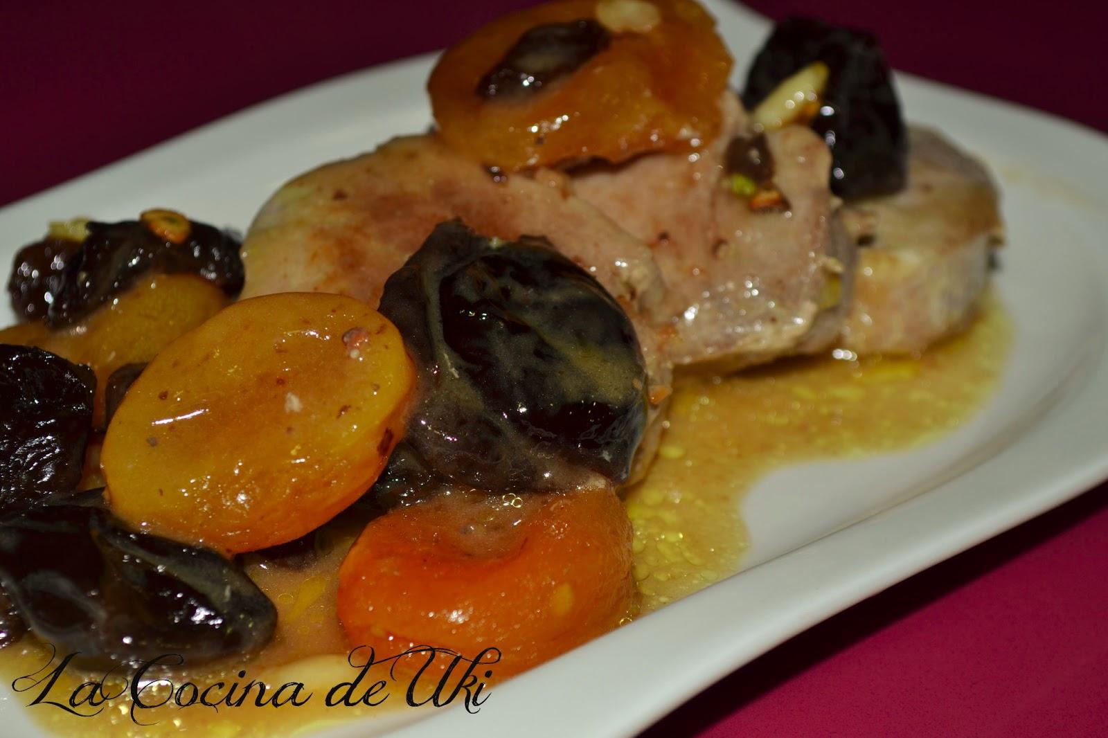 La cocina de uki solomillo ib rico con pasas al pedro ximenez Solomillo iberico al horno