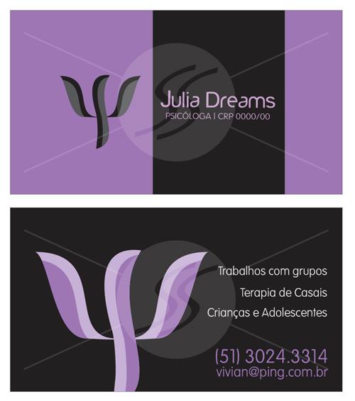 10 cartoes de visita criativos psicologia09 - 10 Cartões de Visita super criativos para Psicólogos