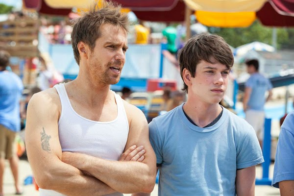 "Sam Rockwell and Liam James in ""The Way, Way Back"""
