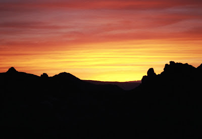 Sunset, Big Bend National Park, Texas by Johnnie Chamberlin