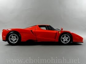 Xe mô hình tĩnh Ferrari Enzo hiệu Hot Wheels tỉ lệ 1:18