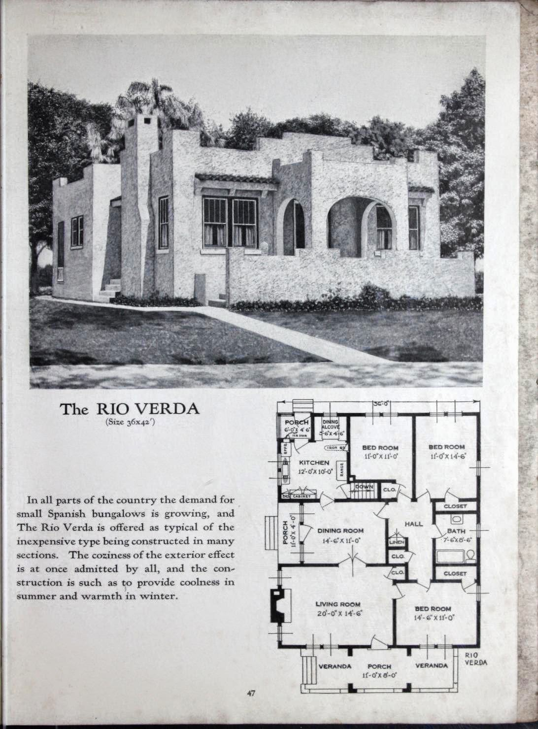 Art Deco House Plans! | Art Deco Resource