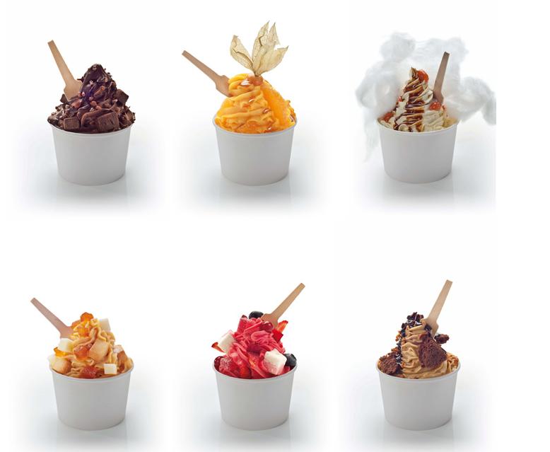 Dos entre bambalinas rocambolesc una heladeria especial - Decoracion de helados ...