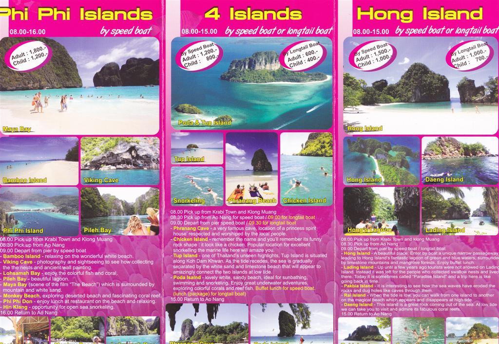 Krabi Island Hopping Package