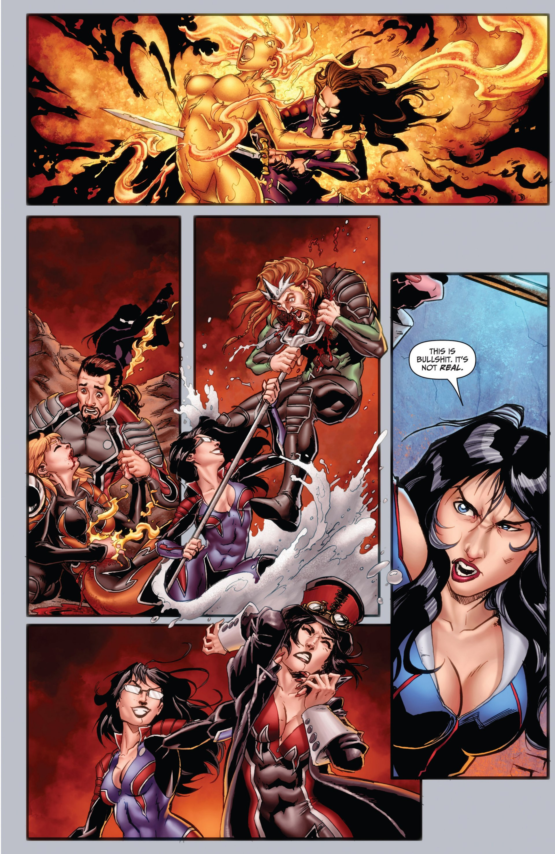 Grimm Fairy Tales (2005) Issue #99 #102 - English 7