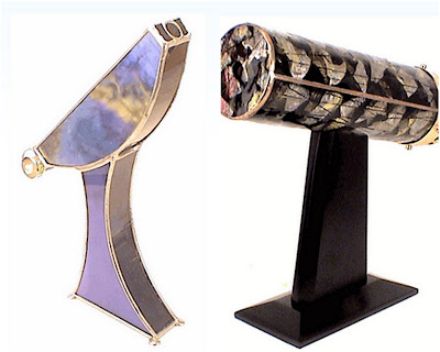 Artisan Created Kaleidoscopes, Limited Edition Parlour Kaleidoscope, Modern Glass Art Kaleidoscope