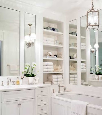 Home  Garden Ideas on Decorating Home And Garden  Pure Design  White On White Bathroom Ideas