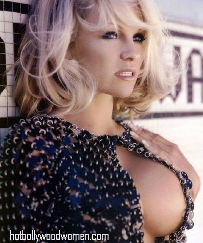 Breast size of pamela anderson