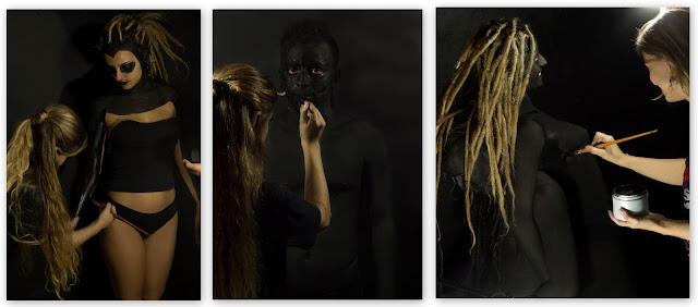 Jacky Simionato body art pintura corporal