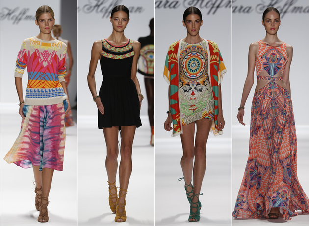 Eclectic and Upbeat Collections - NYFW Spring 2014