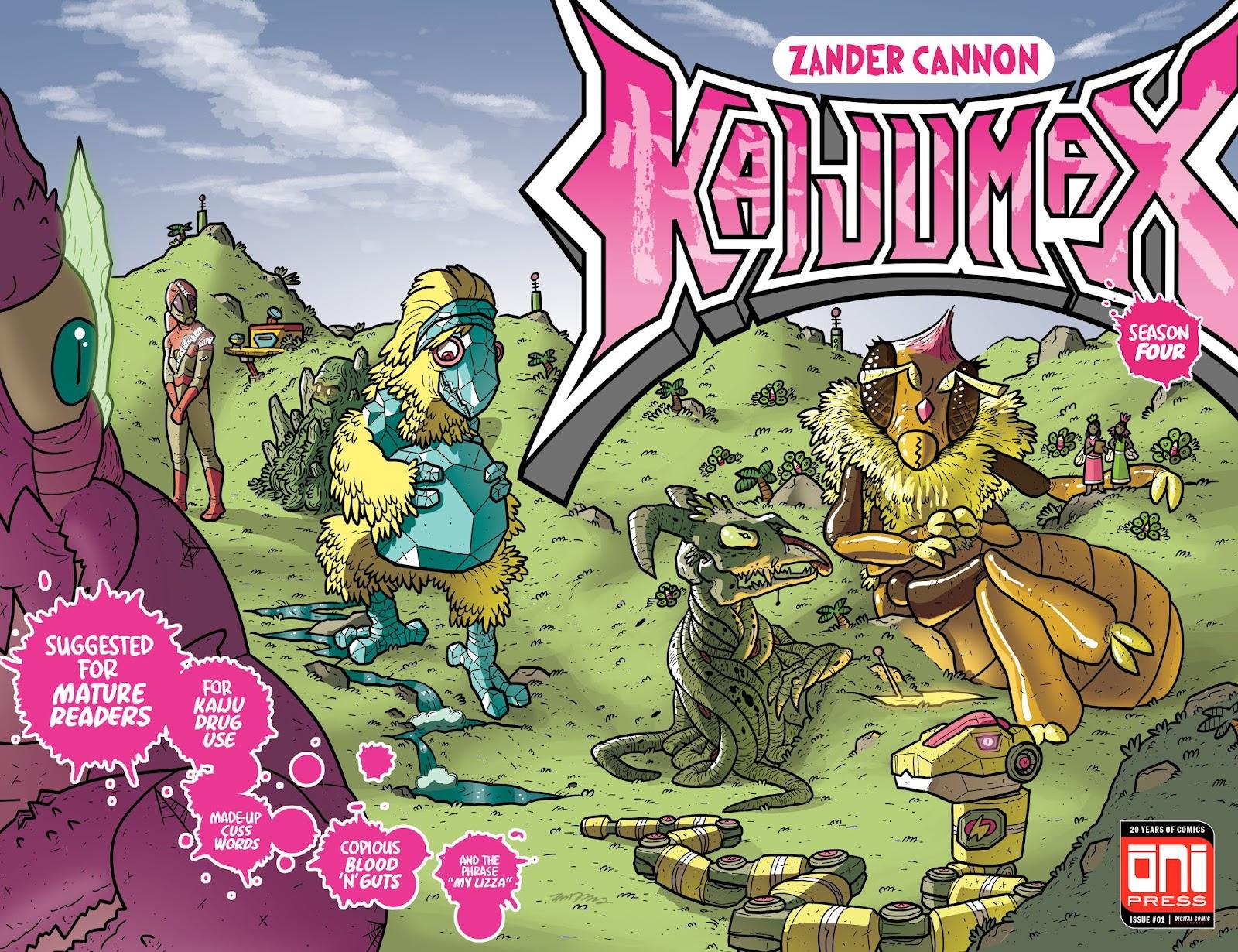 Kaijumax: Season Four issue 1 - Page 1