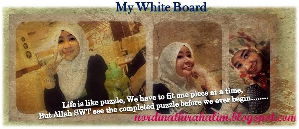My White Board