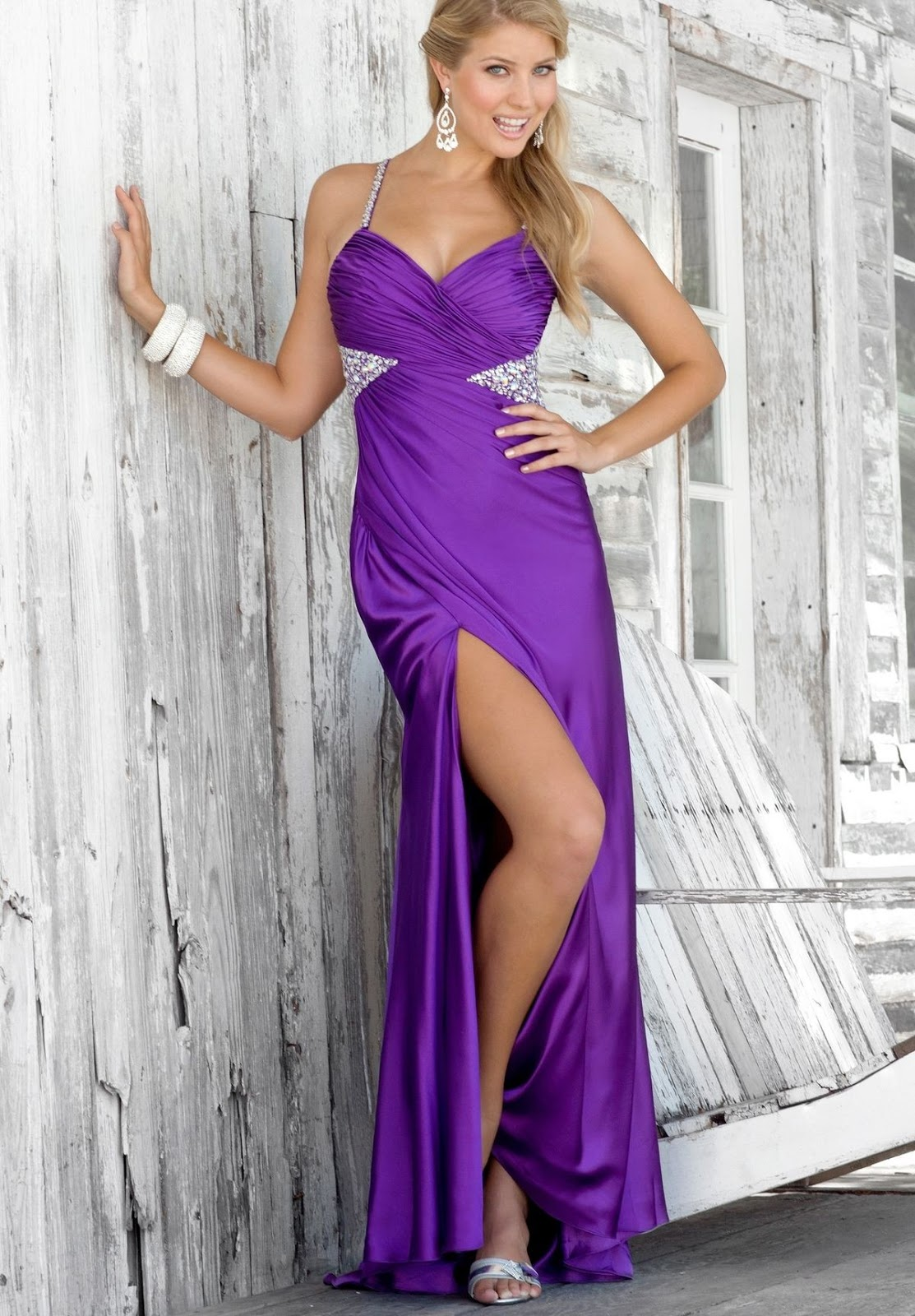 Apologise, but, Sexy purple long dress opinion you