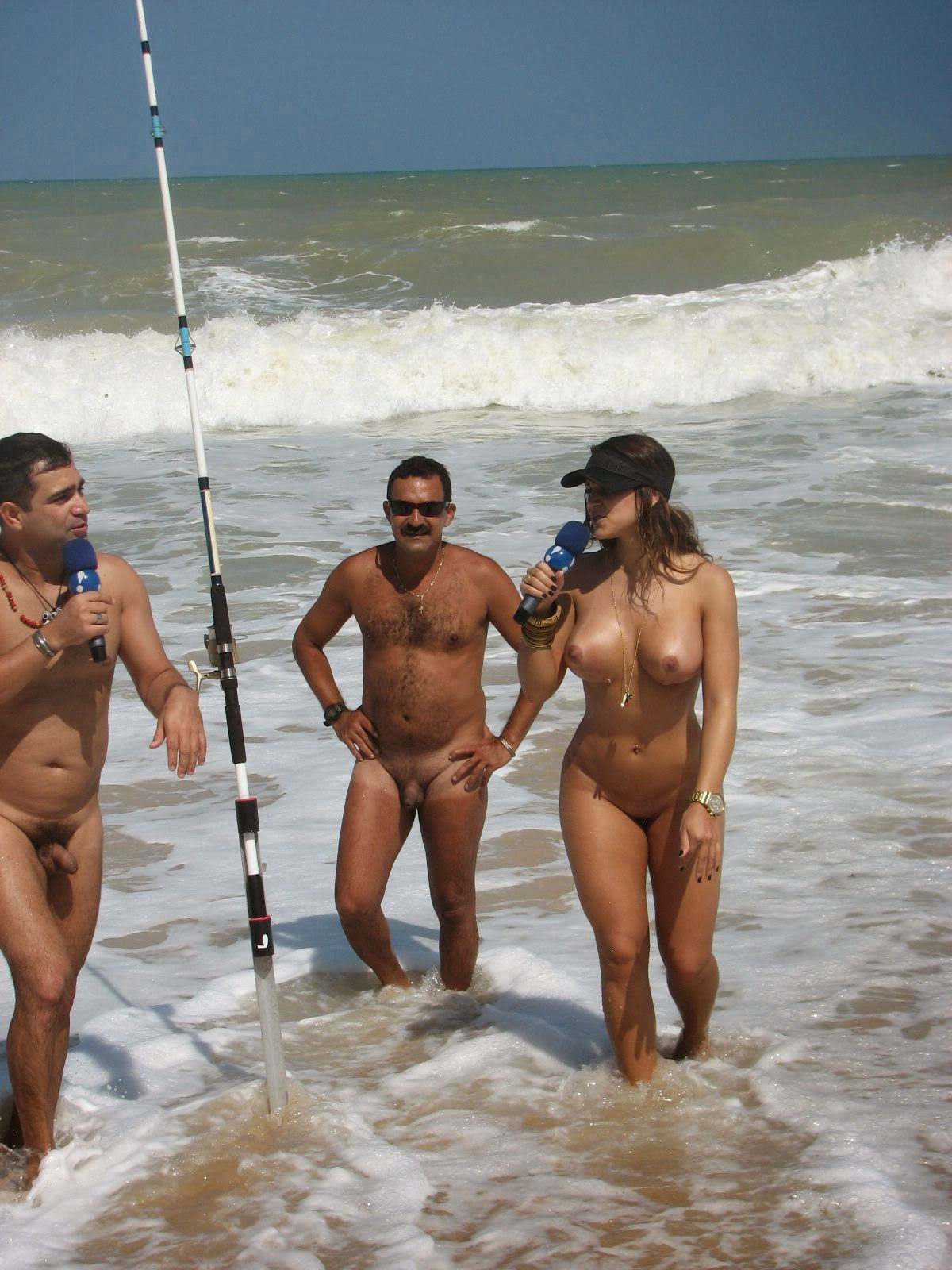 Beach nudist tube