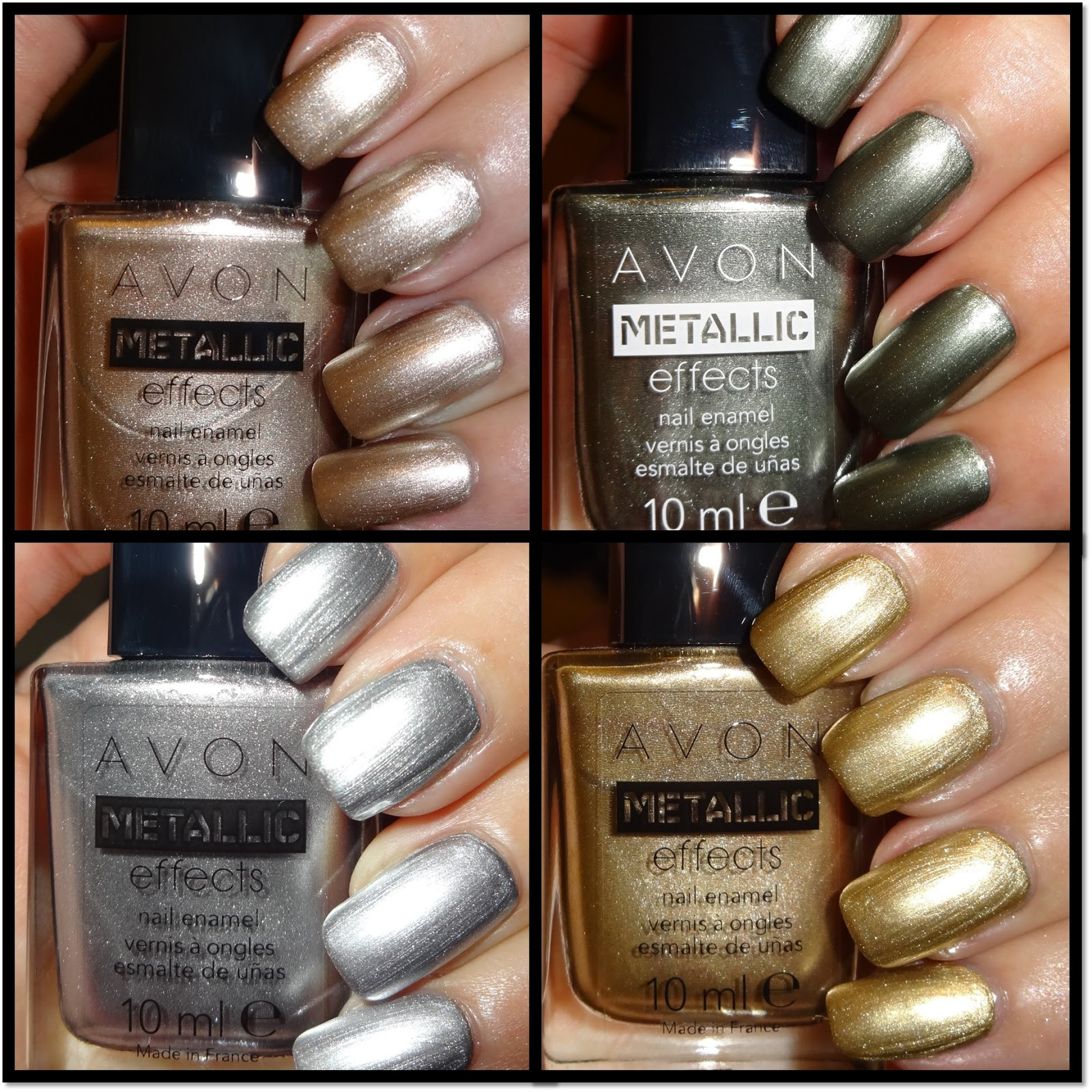 Wendy\'s Delights: Avon Metallic Effects Nail Polish - Frosted Peach ...