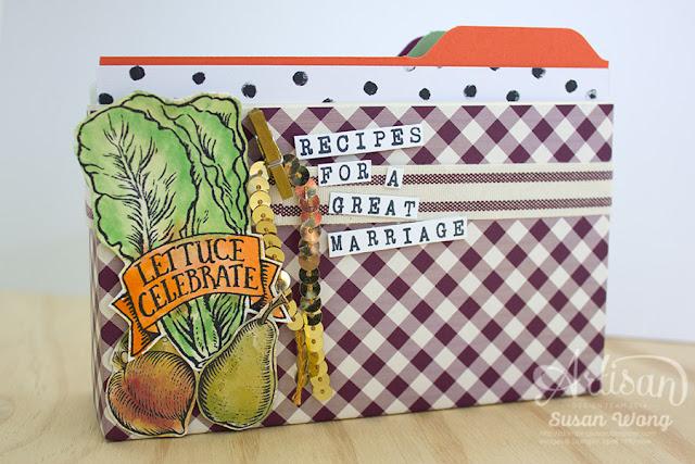 Market Fresh Recipe Card Box ~ Susan Wong