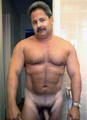 daily men # 53 : muscle hairy bear. at 9:13 AM. Labels: handsome, mature gay
