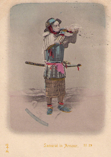 Japan Samurei Warrior anno 1900