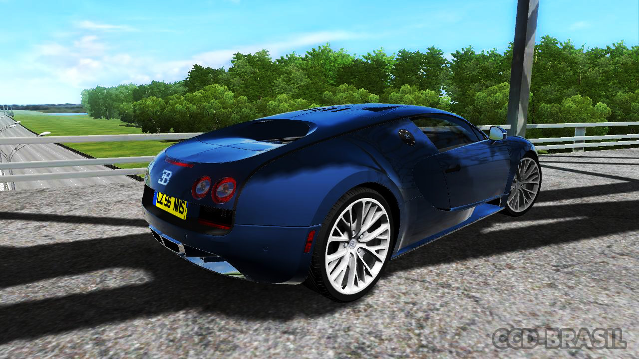 city car driving brasil bugatti veyron ss 1 5. Black Bedroom Furniture Sets. Home Design Ideas
