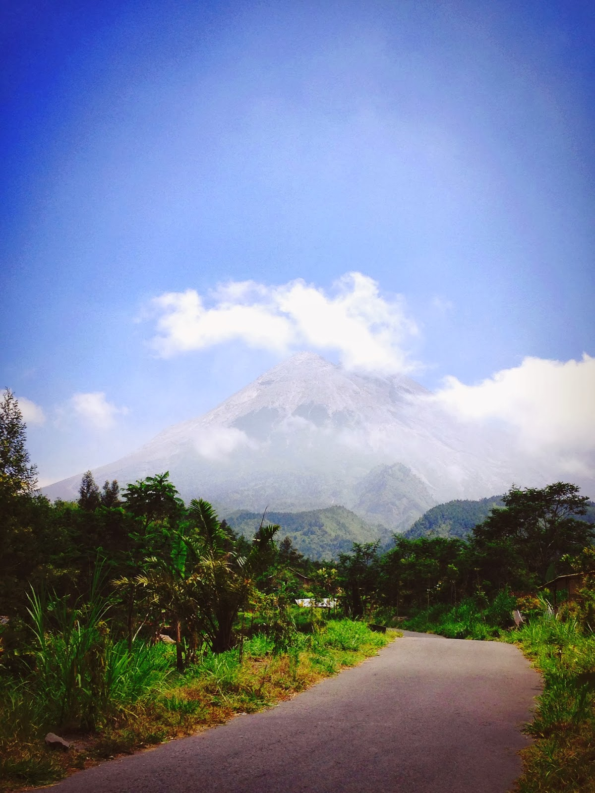 Indonesia Yogyakarta Mount Merapi