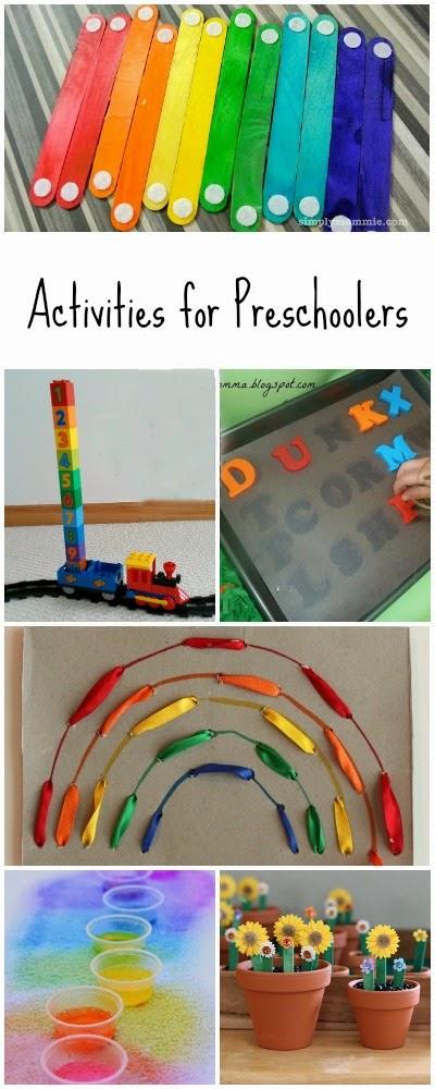 12 hands on activities for preschoolers