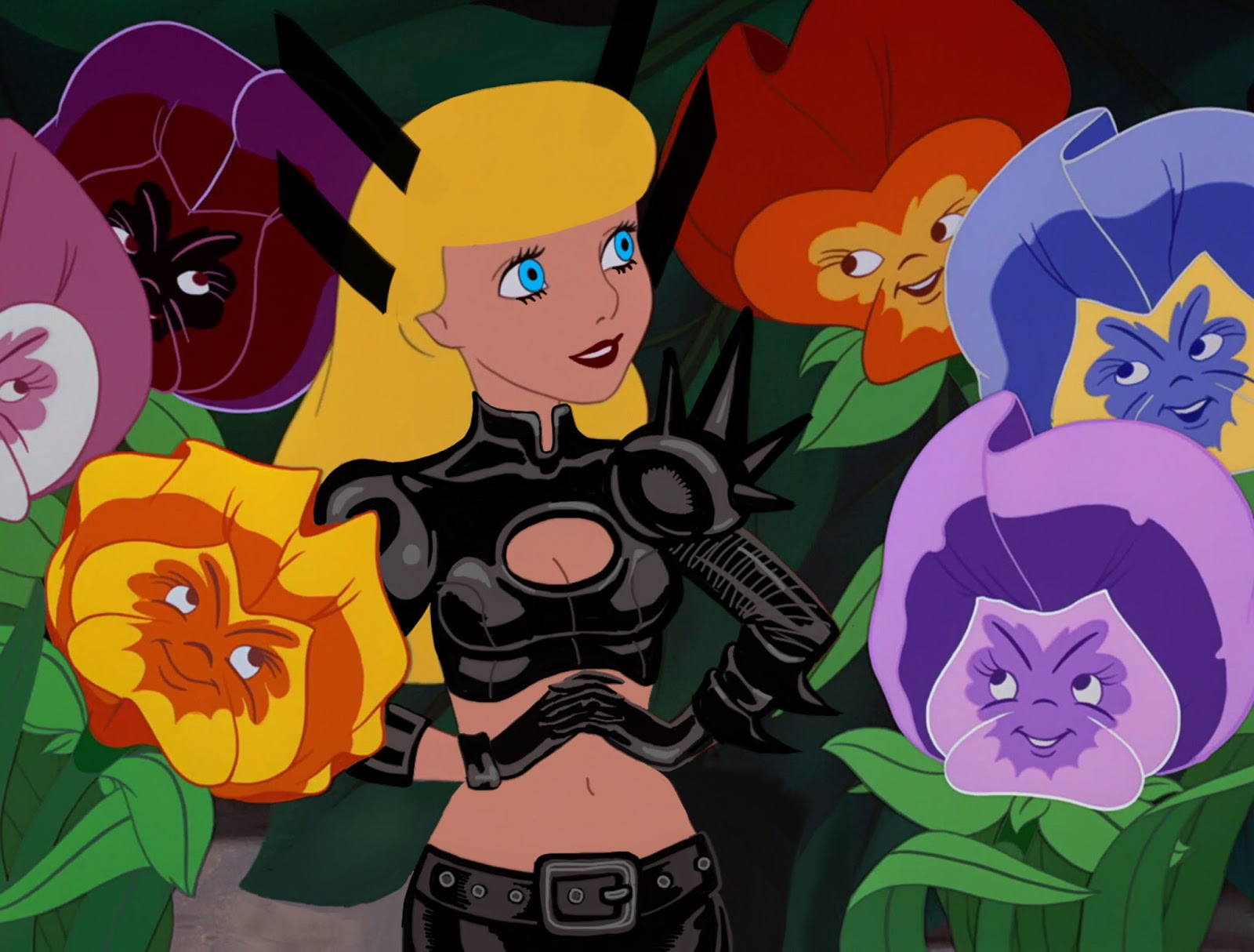 Disney Princesses as X-Men VIDEO: Turning Alice into Magik! | DESIGN ...