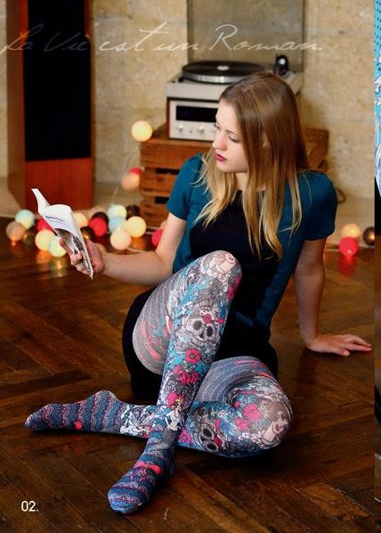 collants et chaussettes fantaisie les fameux collants marie antoilette. Black Bedroom Furniture Sets. Home Design Ideas