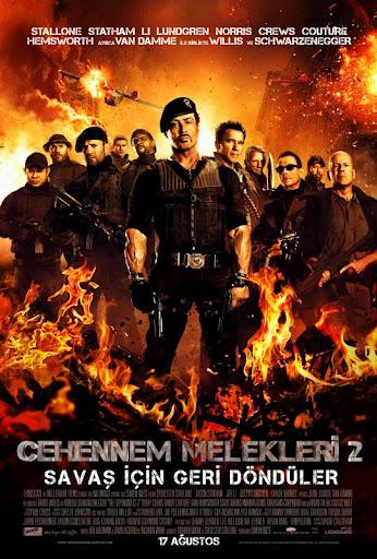 Cehennem melekleri 2 the expendables 2 movie film poster afis