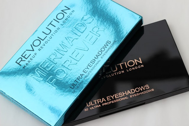 Makeup Revolution Mermaids Forever palette and packaging