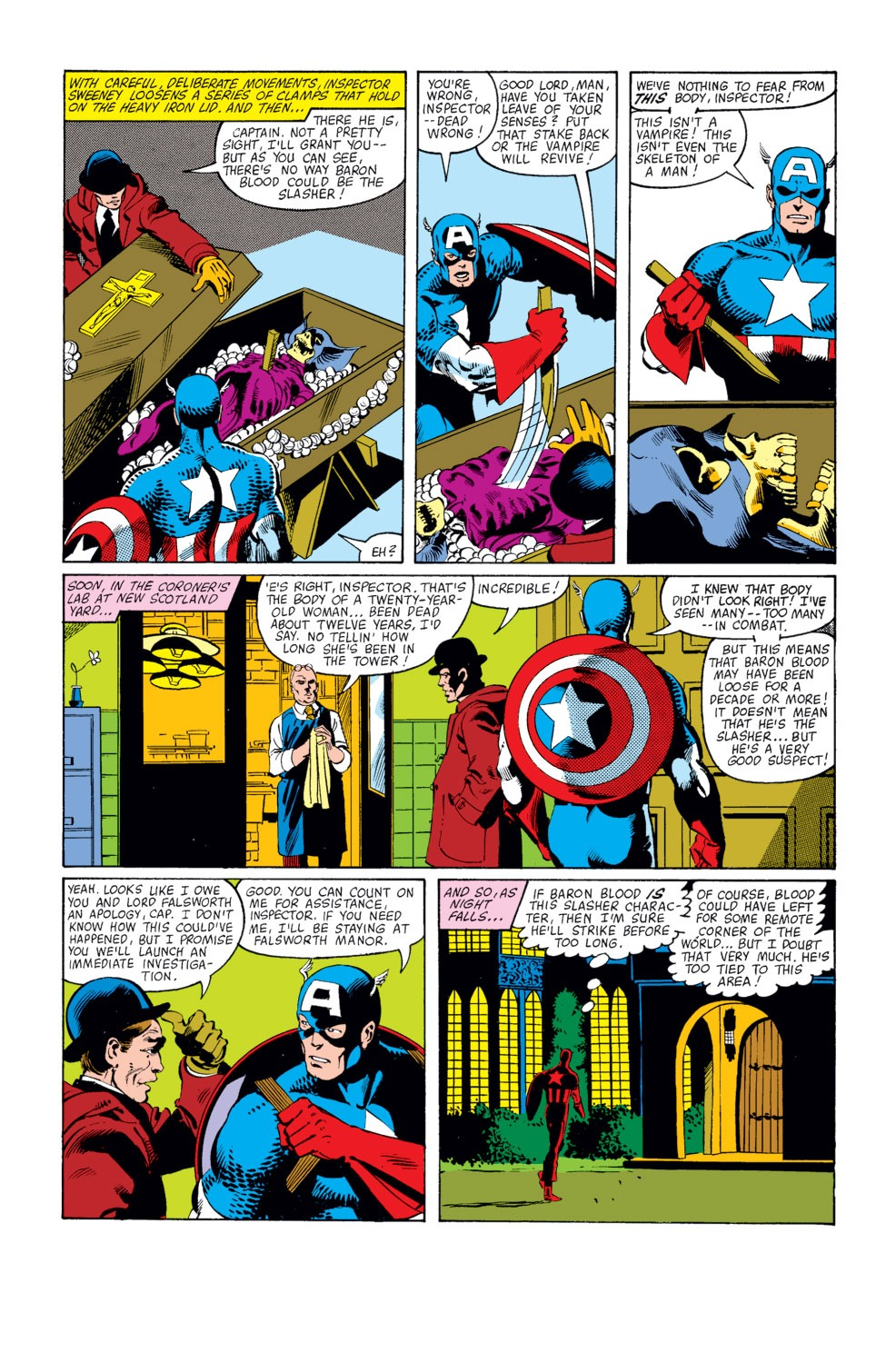 Captain America (1968) Issue #253 #168 - English 16