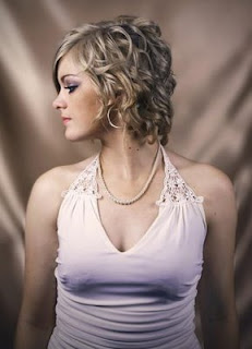 Short Medium Curly Haircut