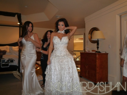 kimkardashian wedding dress