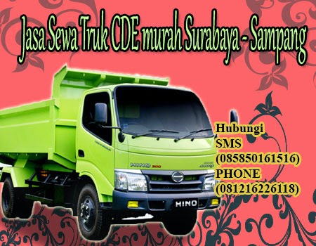 Jasa Sewa Truk CDE murah Surabaya - Sampang