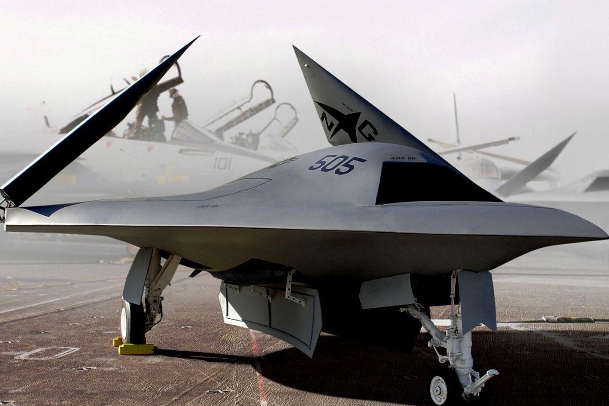 X-47B Jet Fighter UAV Wallpaper 4