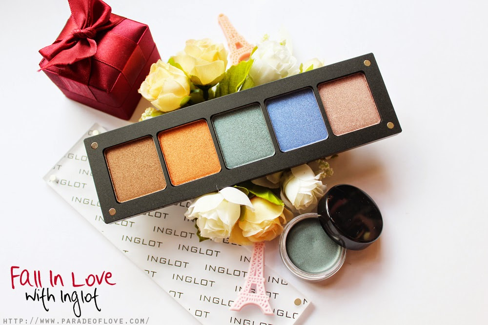 Fall In Love with Inglot: Review, Swatches & Makeup Look