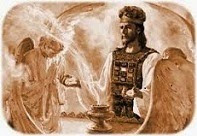 He is both the HIGH PRIEST & the SACRIFICE