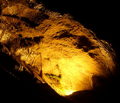 formations in Gough's Cave, Cheddar