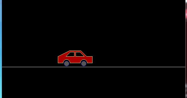 C Program for Moving Car Animation Using C Graphics