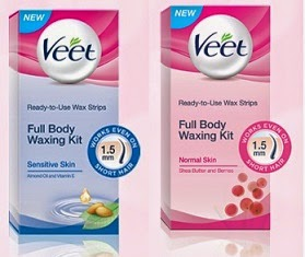 FREE Sample:  Get Veet Full Body Waxing Kit (Valid for Delhi NCR Only)