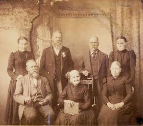 Miller-Watson Family Ca 1886