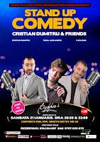 Stand-Up Comedy Sambata 21 Ianuarie Bucuresti