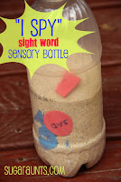 Sight Word Discovery Bottle