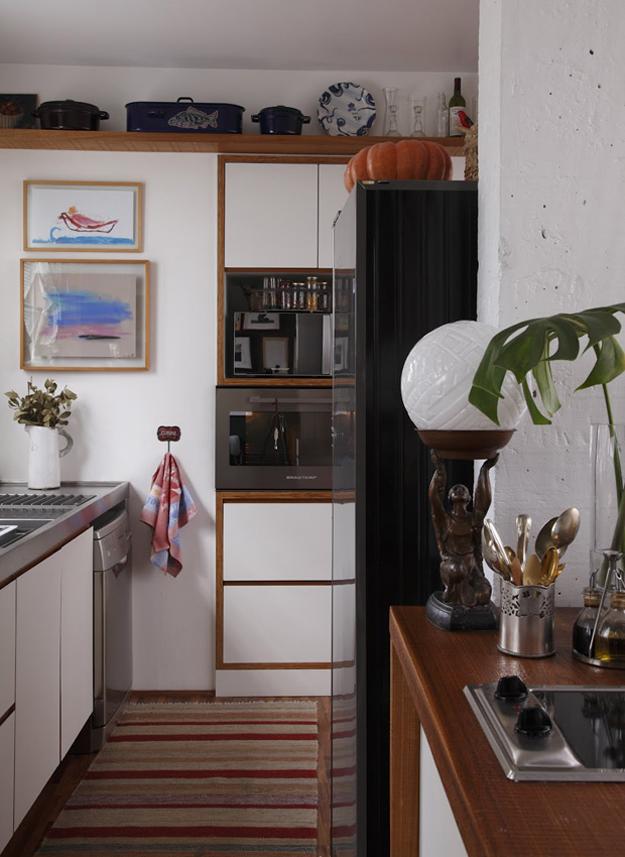 Detalhes da decoração do apartamento da blogueira Rita Lobo  Casinha Arrumada # Decoracao Cozinha Rita Lobo