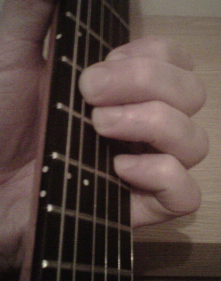 A New Guitar Chord Every Day October 2012 The Symble A7 Above Bar It Means We Have To Play C7 Blues